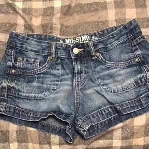 Mossimo Target jean shorts